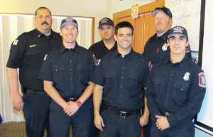 Calco firefighters